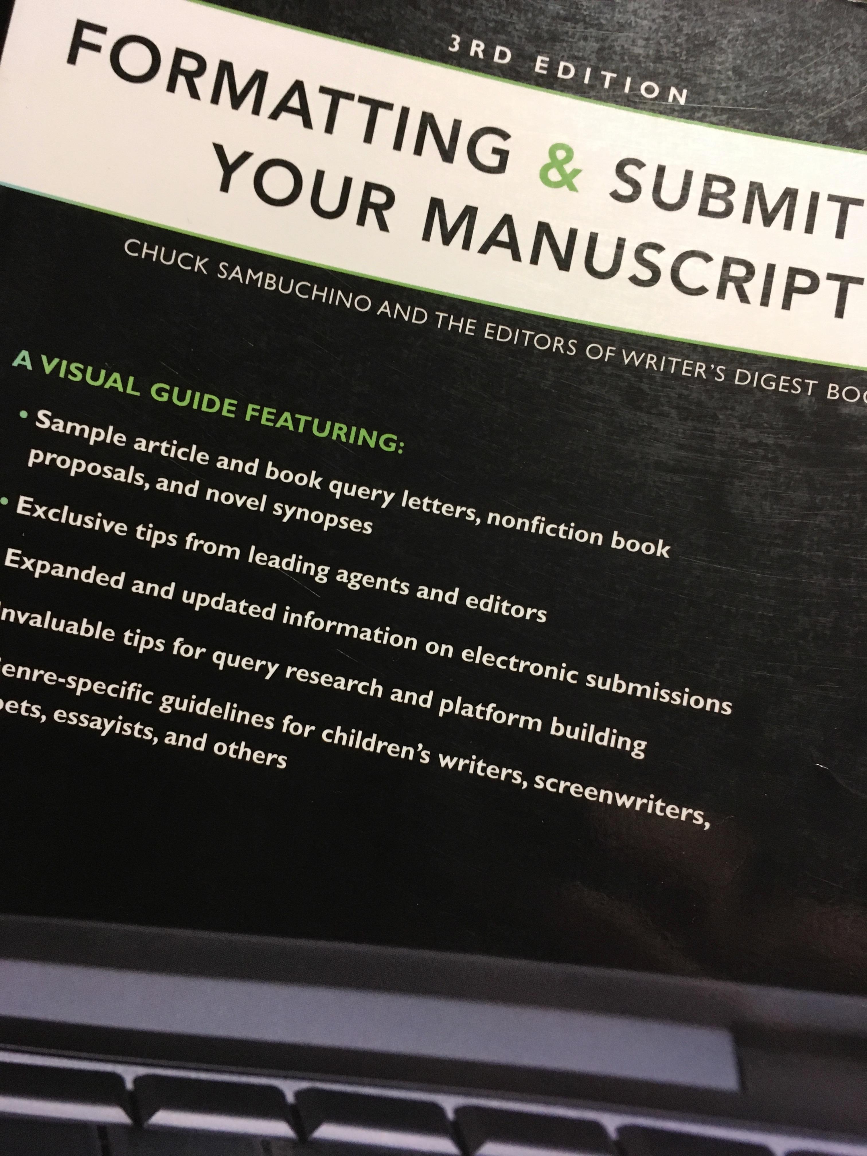 manuscript format book